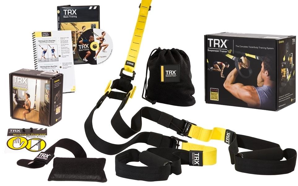 TRX Posilovací závěsný systém Profesionál PRO Pack P2
