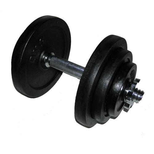 Jednoruční činka nakládací - 15 kg