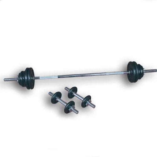 Nakládací činkový set - 70 kg