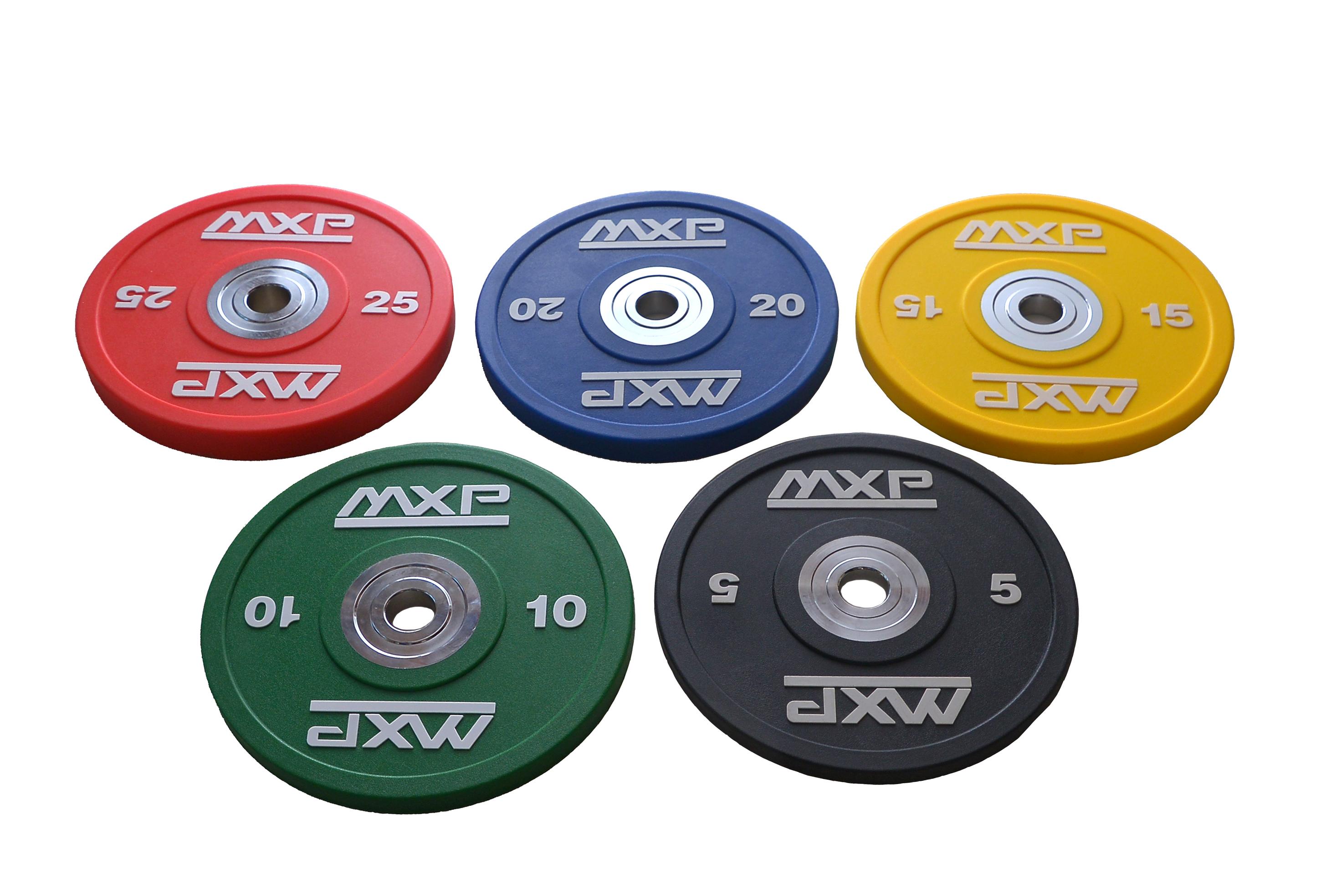 Kotouč Bumper Plate CrossGym - 25 kg