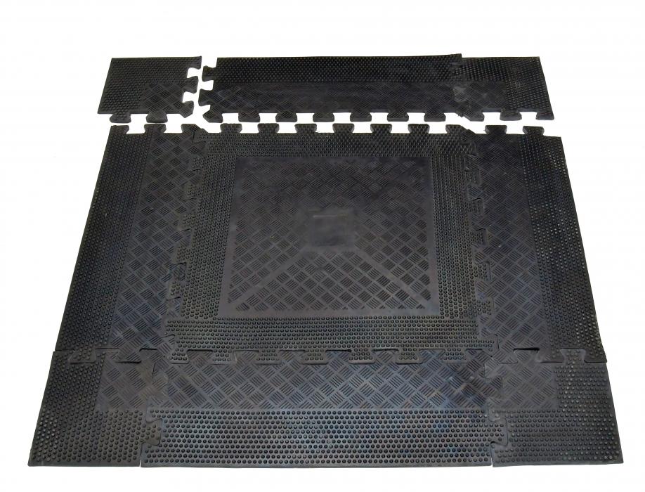 Podložka pod činky - 85 x 85 x 1,2 cm