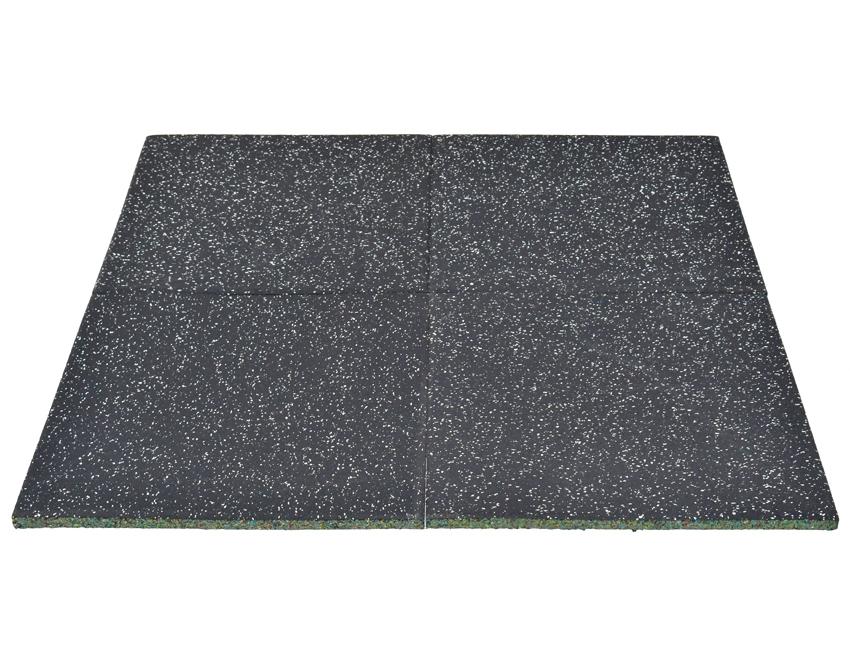 Sportovní podlaha pro činkové zóny 4x DLAŽDICE - 50 x 50 x 2 cm