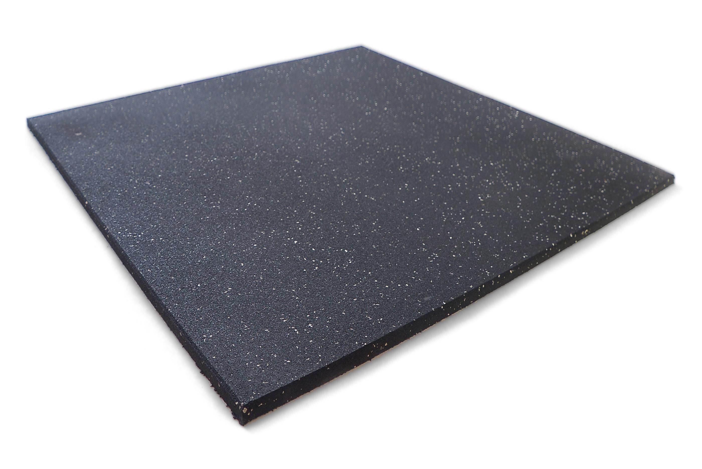 Gumová podlaha DLAŽDICE - 100 x 100 x 1,5 cm