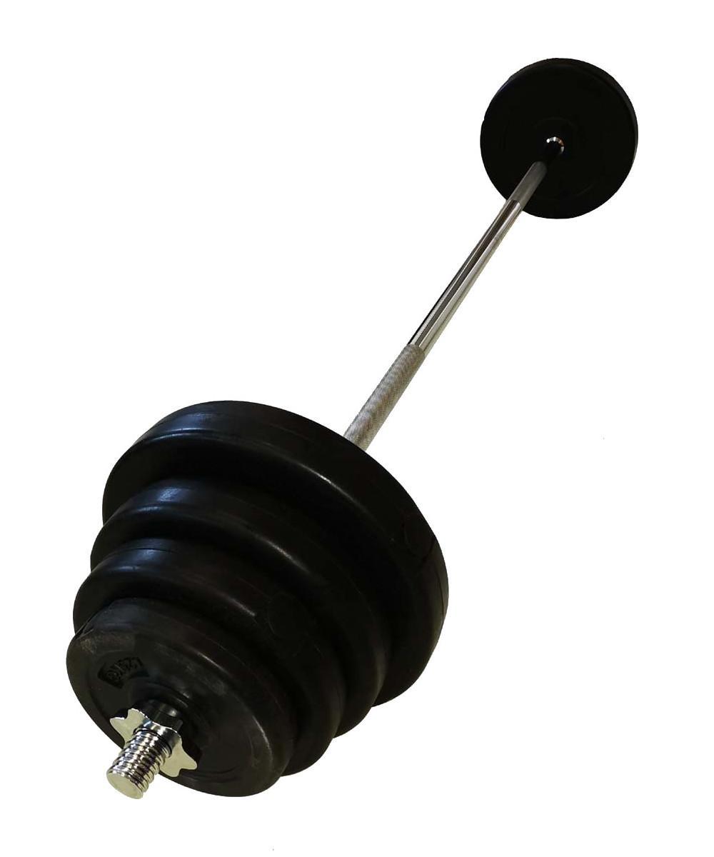 Nakládací činka (kotouče s cementovou náplní) - 55 kg