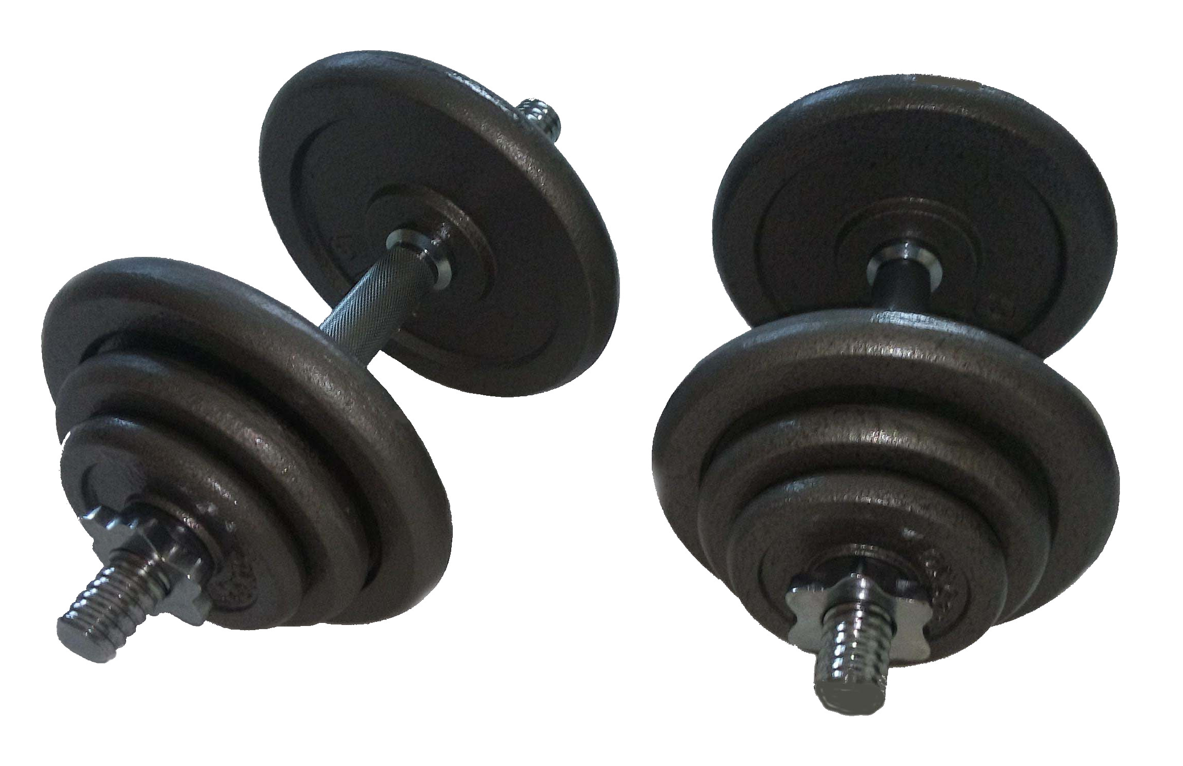 Jednoruční činkový set - 2 x 20 kg