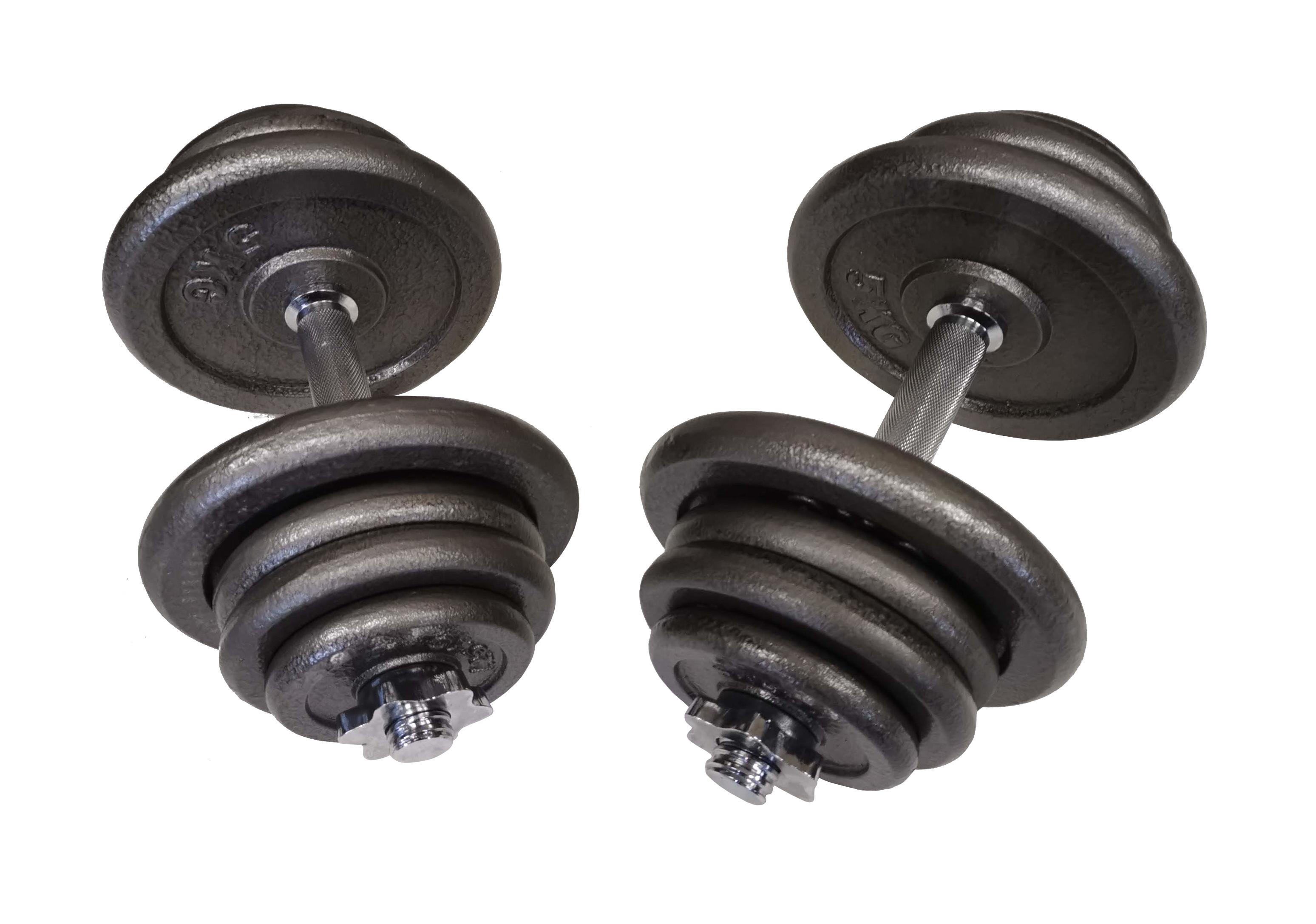 Jednoruční činkový set - 2 x 25 kg