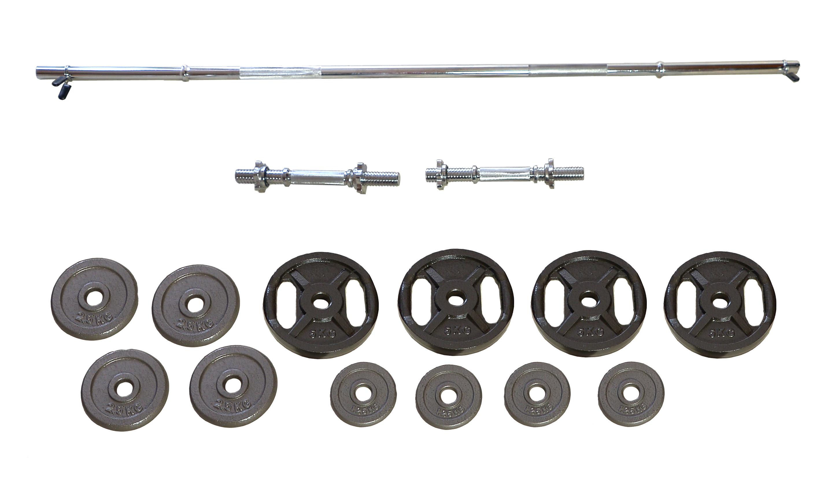 Činkový set PREMIUM - 50 kg