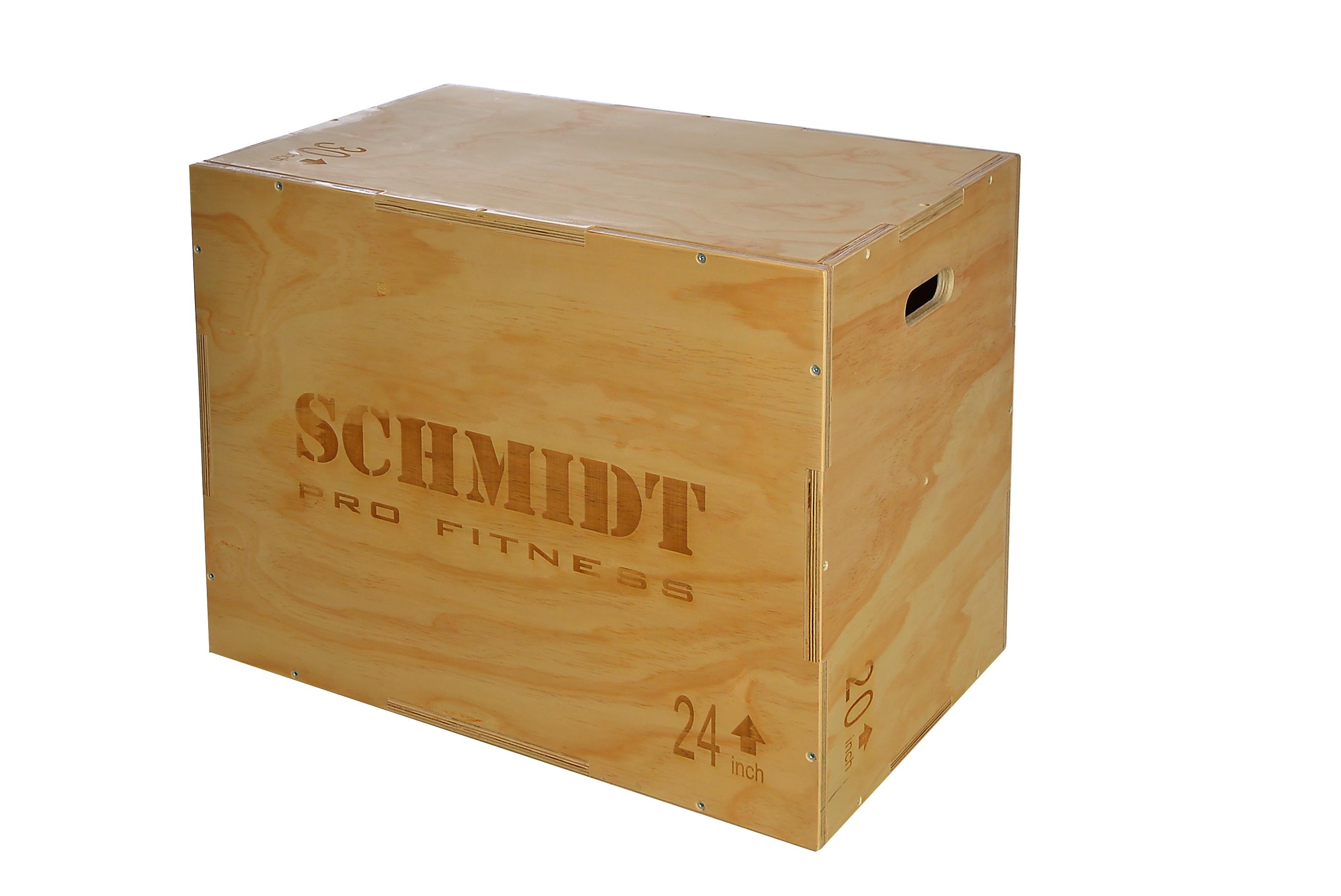 Plyometrická dřevěná bedna (Plyo Box)