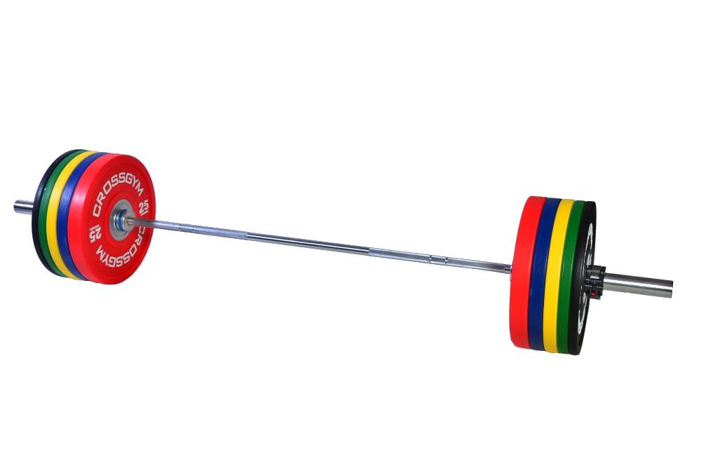 Crossfitová olympijská sada - 90 kg